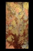 "Tabernaculum #12 (48""x24"") acrylic & raw pigment:canvas"
