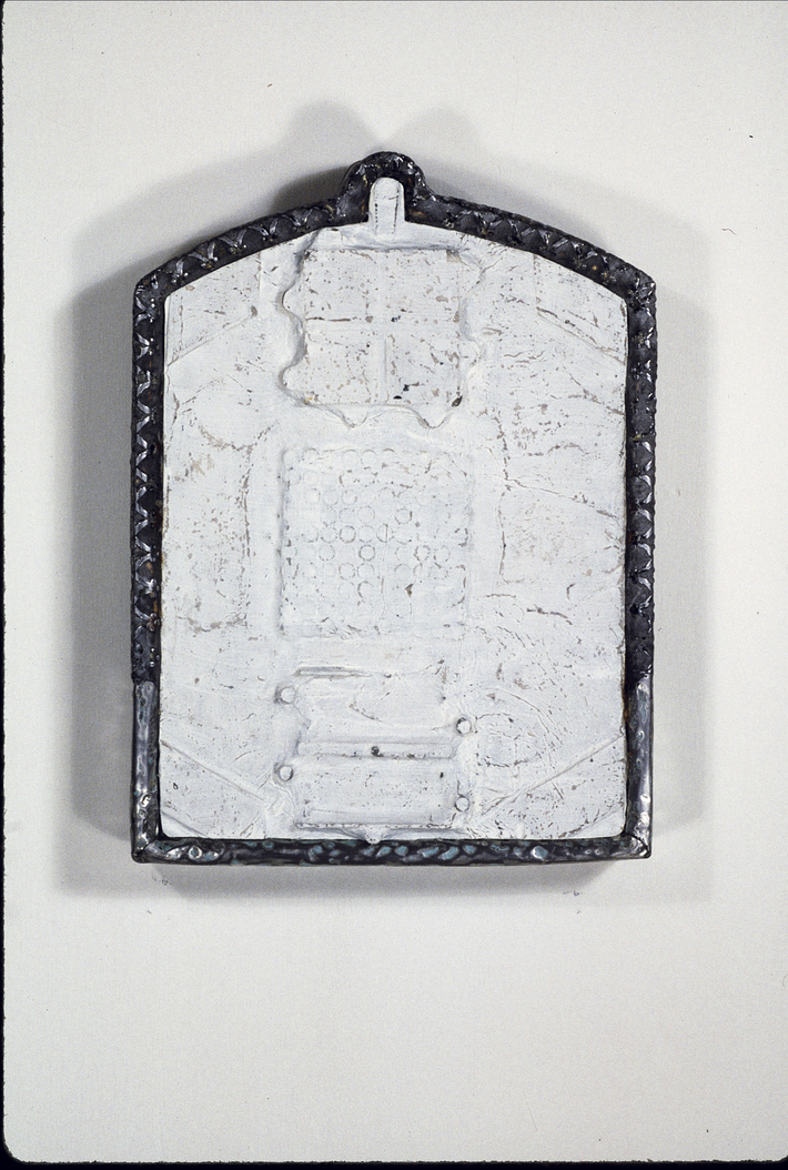 Robert Eustace... 'Holy Fragment' displayed in exhibit: 'GOD... In the Abstract'