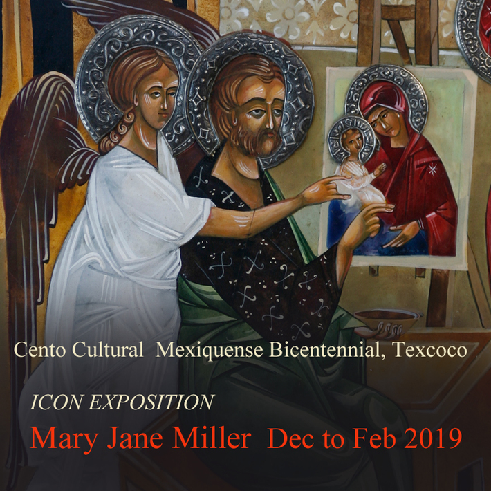 Museum show in Mexico, Mary Jane Milelr