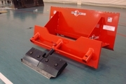 Skid Steer Scraper Attachment