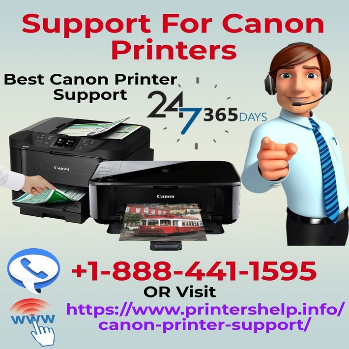 Support For Canon Printers | +1-888-441-1595 Call Now