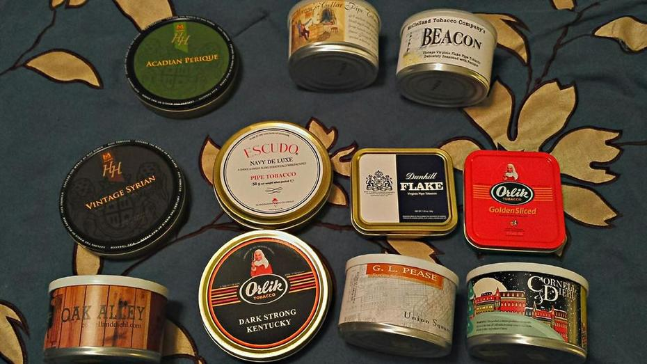 Mail call!  I picked up a couple of tins during Pipes & Cigars 20% off sale last week.  Also got an AJF Connecticut and Camacho ABA cigars.