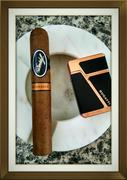 Xmas Smoke, Davidoff Nicaragua in Robusto.
