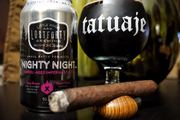 It's been a few weeks since I've been able to enjoy a beer and cigar.  (Tatuaje Series P Miami)