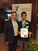 Mark Baker named New Jersey State Alliance Youth Volunteer of the Year