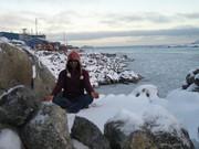 Yoga at Palmer Station, Antarctica
