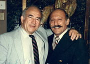 Ed Asner & Burt Richards
