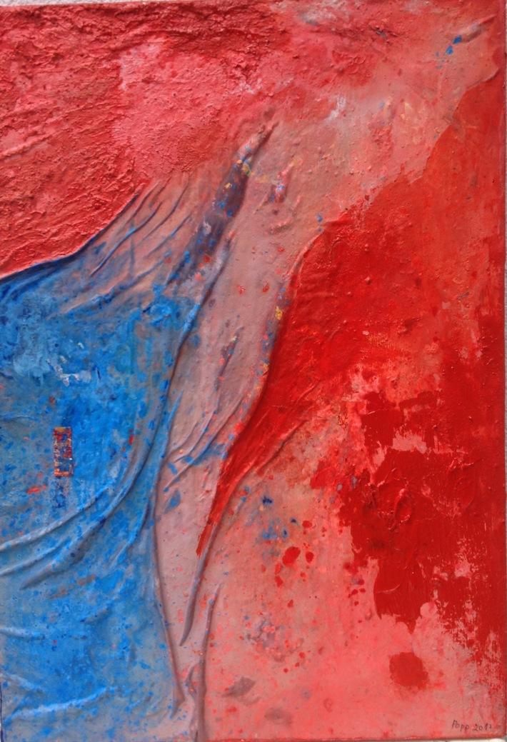 Ein heiliger Ort 2017 68 cm x 98 cm Öl Acryl auf Holz