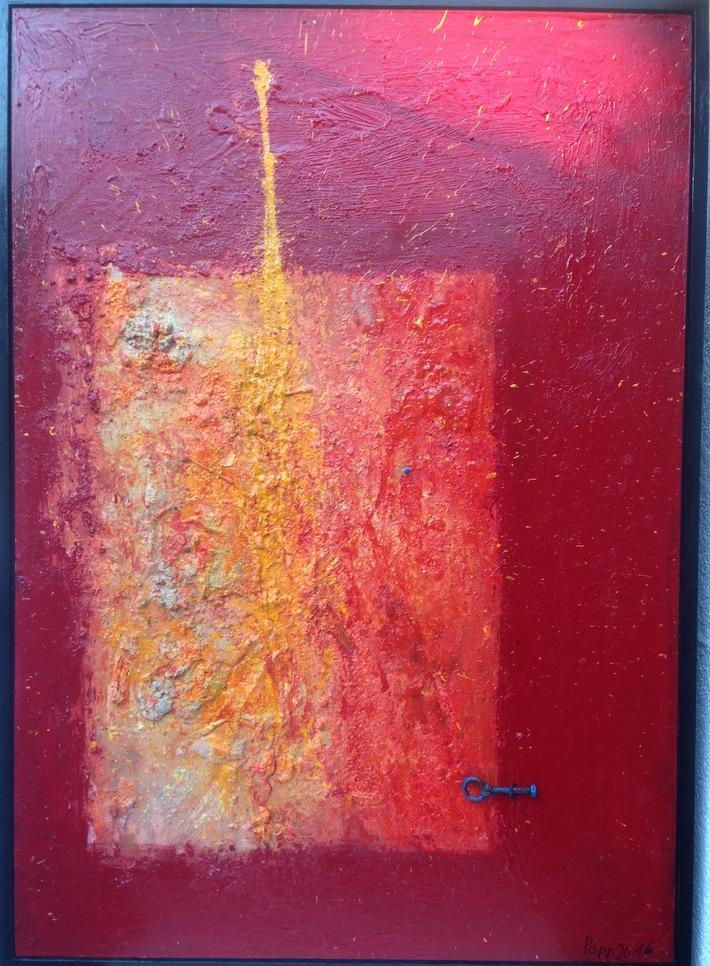 Die Wiederauferstehung 2016 140 cm x 100cm Öl Acryl auf Leinen