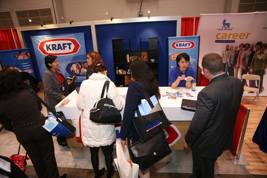 Kraft Foods Recruitment Team & Booth National NSHMBA Career Conference