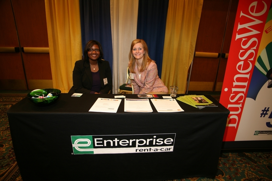 Job Fair - Enterprise Rent-a-Car Recruitment Team & Display