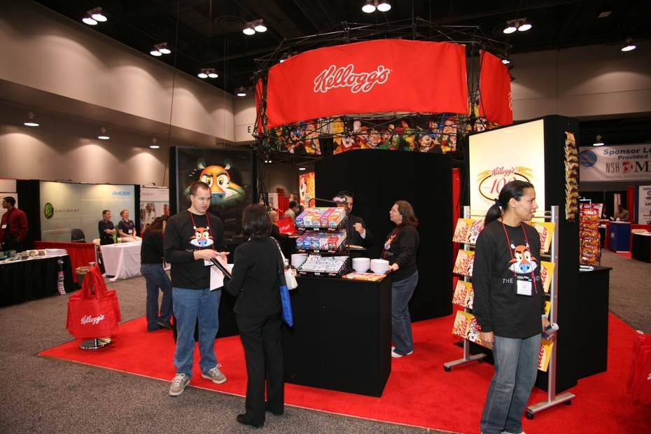 Job Fair - KELLOGG'S - Recruiters & Display