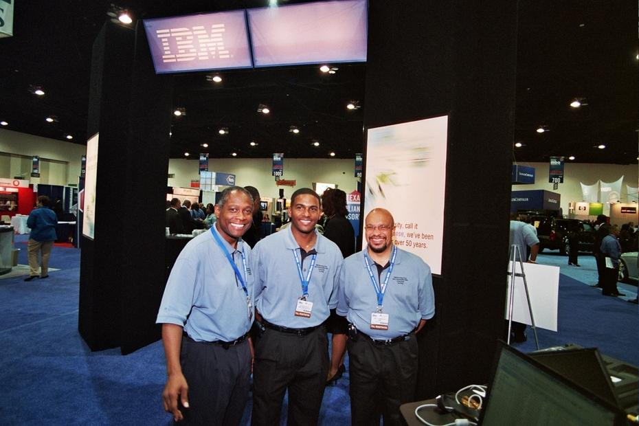 Job Fair - IBM - Recruiters & Recruitment Booth