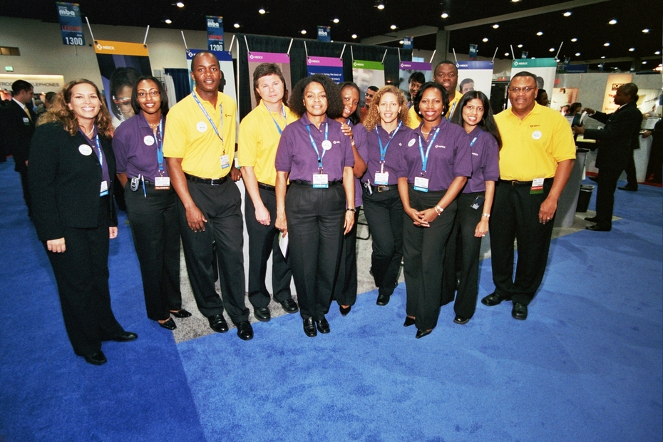 Job Fair - MERCK Recruitment Team & Recruitment Display