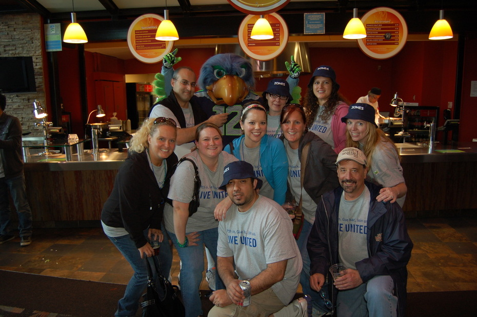 United Way Day of Caring - Zones crew