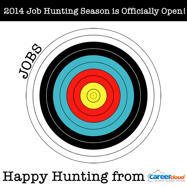 The 2014 Job Hunting Season is open!