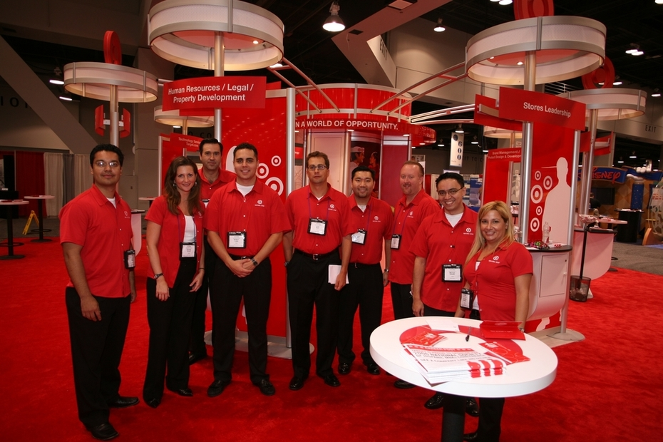 Target's National Recruitment Team & Display -- On TARGET to Recruit the Best of the Best MBAs in the Country