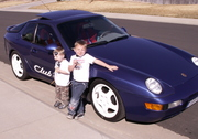 My kids with the 968!