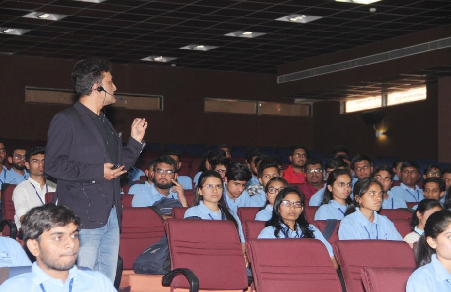 D-Link Academy@RNGPIT Bardoli Surat  on 8th & 9th March 2019 a Keynote speech by D-Link