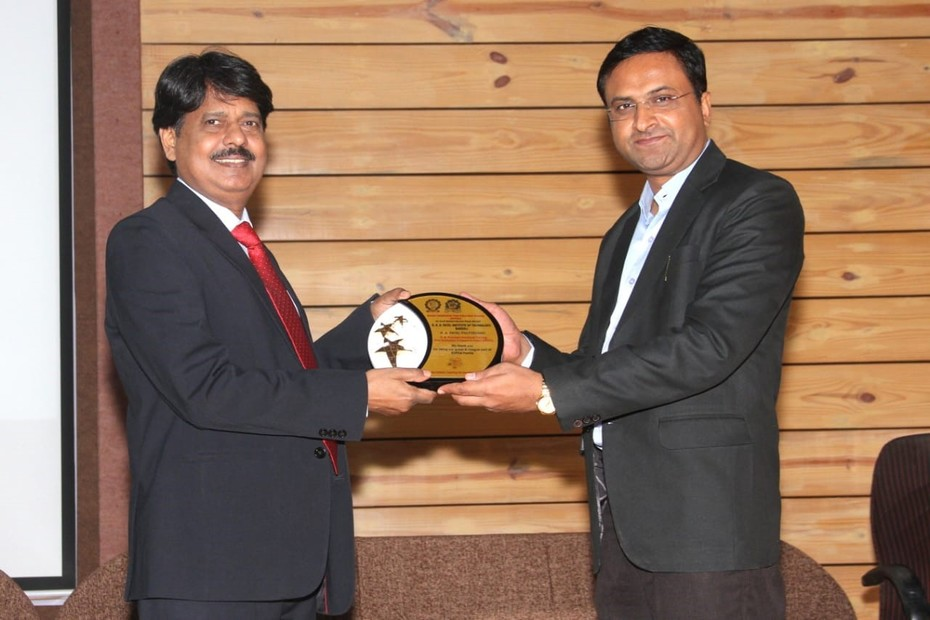 D-Link Academy@RNGPIT Bardoli Surat  on 8th & 9th March 2019 feliciation of Dr. Tripathi