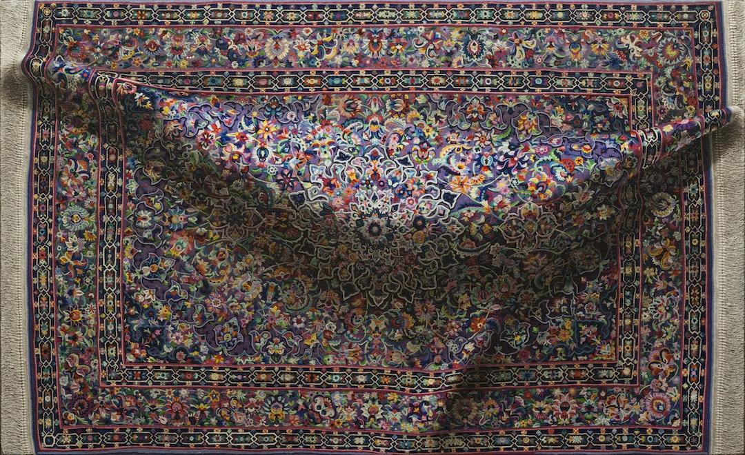 ხალიჩა, ჰიპერრეალიზმი, ნახატი ხალიჩები, რეალისტური ხალიჩები, რეალიზმი, ბლოგი, qwelly, hipperrealism, blog, painting
