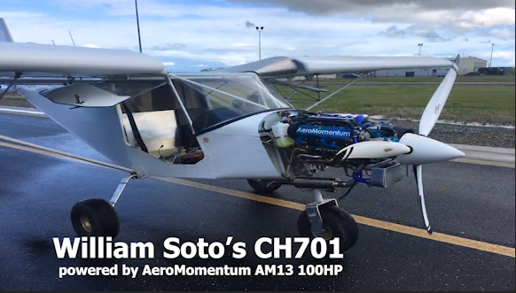 CH701 AM13 100hp AeroMomentum