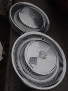 Chesapeake Region AACA Howard Co Swap Meet 2019 Cadillac hubcaps