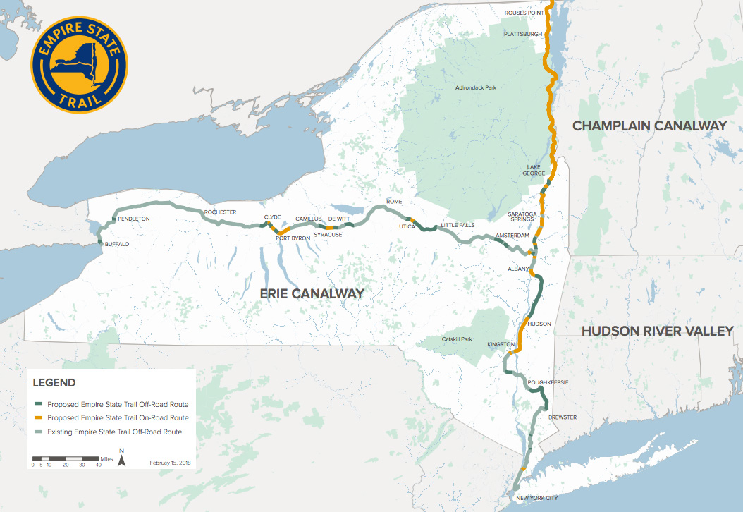 New York Is Building a 750-Mile Trail to Canada