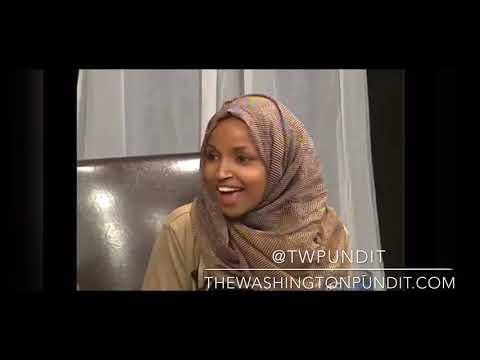 "Ilhan Omar Praising Al Qaeda ""Terrorism Class"""