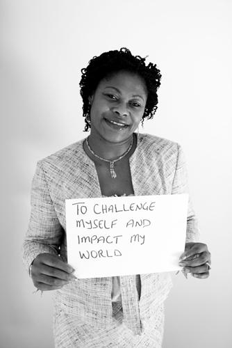 To challenge myself and impact my world