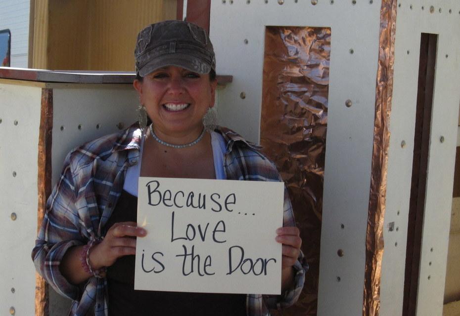 Because... Love is the Door