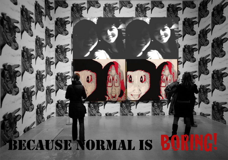 Sonia Kim- Because normal is BORING!