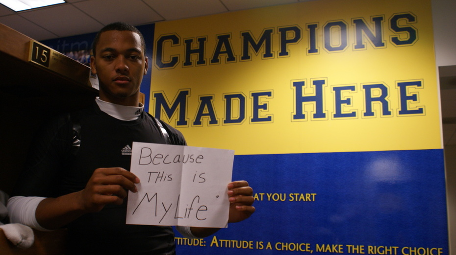 Brett Hundley- Because this is my life