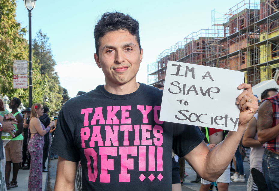I am a slave to society