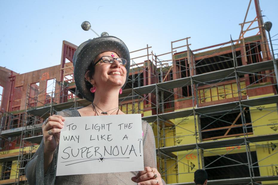 To Light The Way Like a Super Nova!