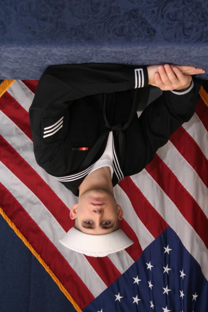 My son Rick after graduating Boot Camp!