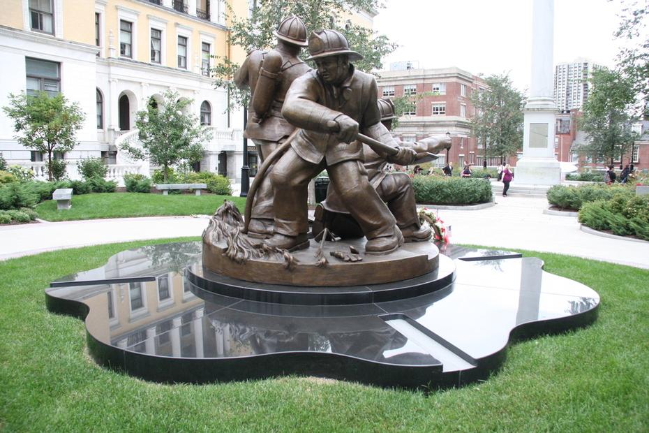 Massachusetts Fallen Firefighters Memorial
