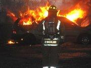 Car fire evolution