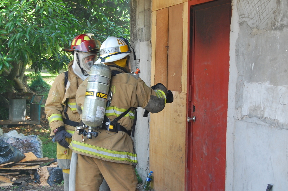 Burn house training