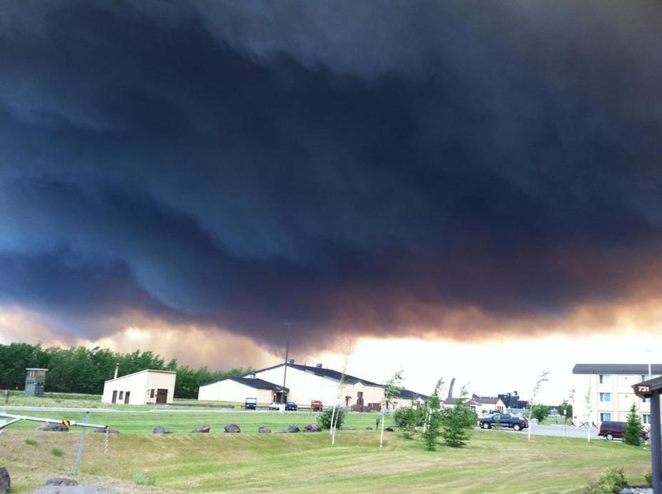Bear Creek Fire, Andersen Alaska
