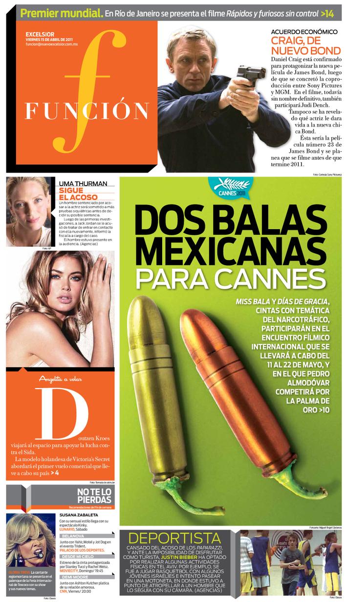 Dos balas mexicanas para Cannes