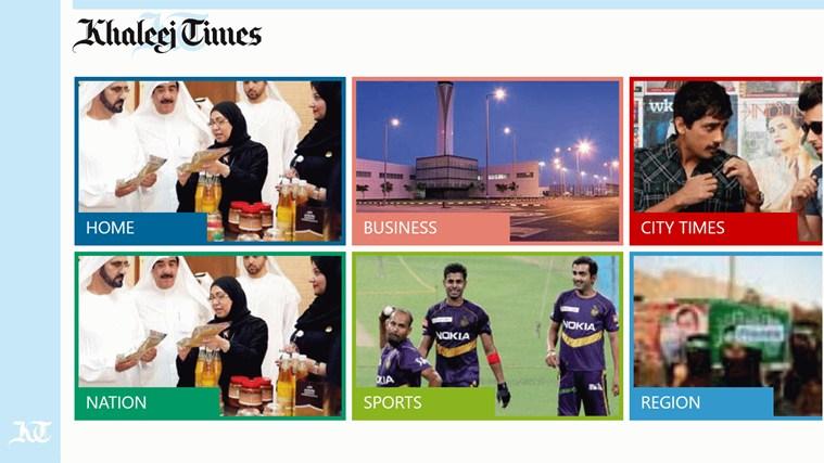 Khaleej Times Windows App