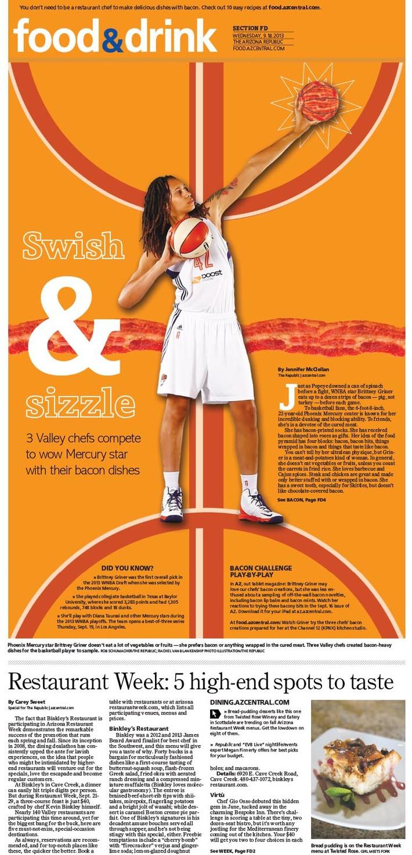 Swish and Sizzle
