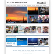 Khaleej Times  Year 2013