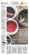 Natural color to dye for