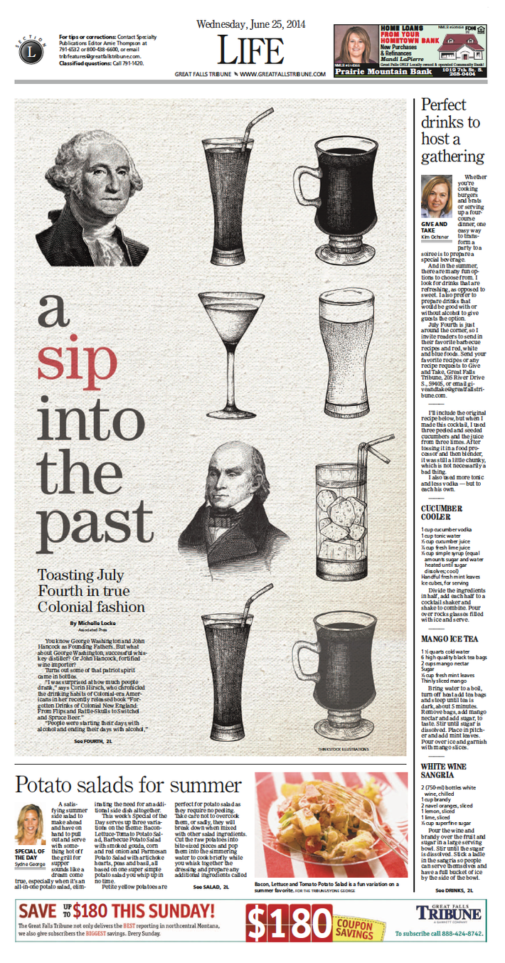 A Sip into the Past