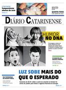 Capa Diário Catarinense