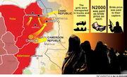 Chibok girls abduction route