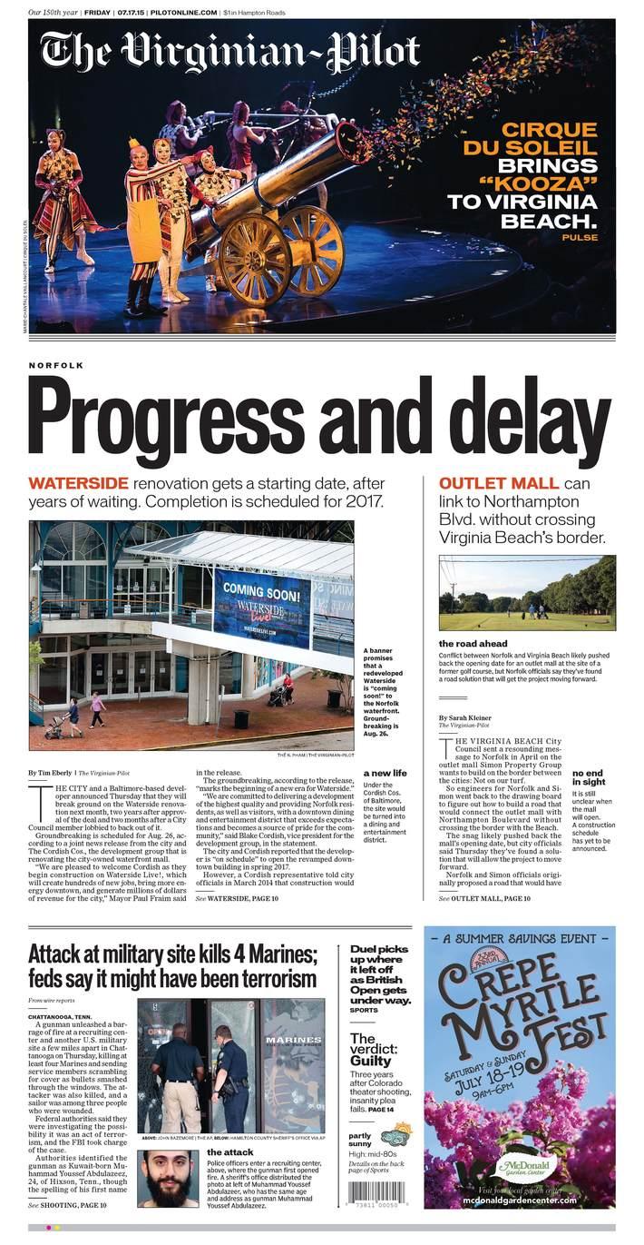 Progress and Delay
