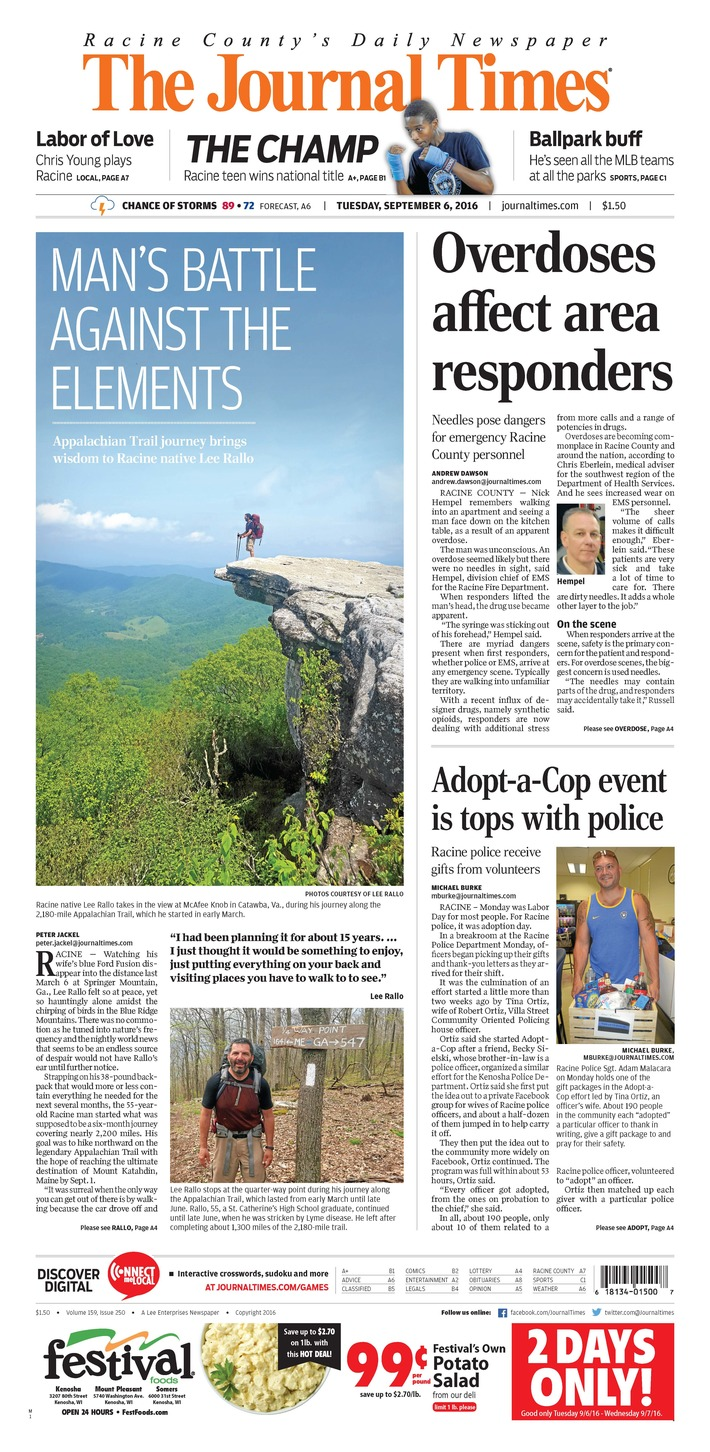 Racine Journal Times 090616